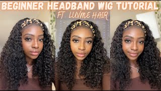 Quick Beginner Headband Wig Tutorial