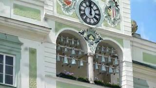 オーストリア・グムンデンの市庁舎の組鐘