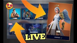 (🔴Live)👉Fortnite Battle Royale Trying to get to tear 100/lvl 36/PS4👈