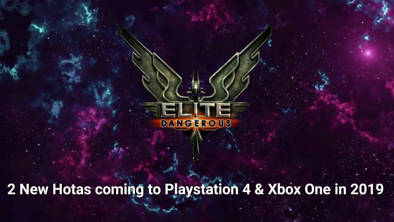 Best Hotas For Elite Dangerous 2019 Elite Dangerous New HOTAS for PS4 and XBOX ONE in 2019   YouTube