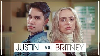 Justin Timberlake VS Britney Spears MASHUP ft Sam Tsui and Madilyn Bailey
