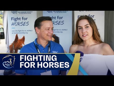 US Equine Humane Society at Tryon2018  FEI World Equestrian Games 2018