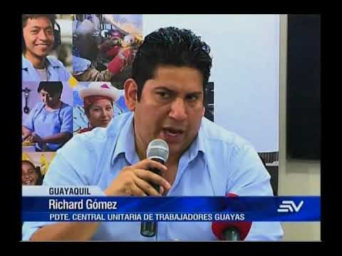 Central Unitaria de Trabajadores da respaldo político a presidente Moreno