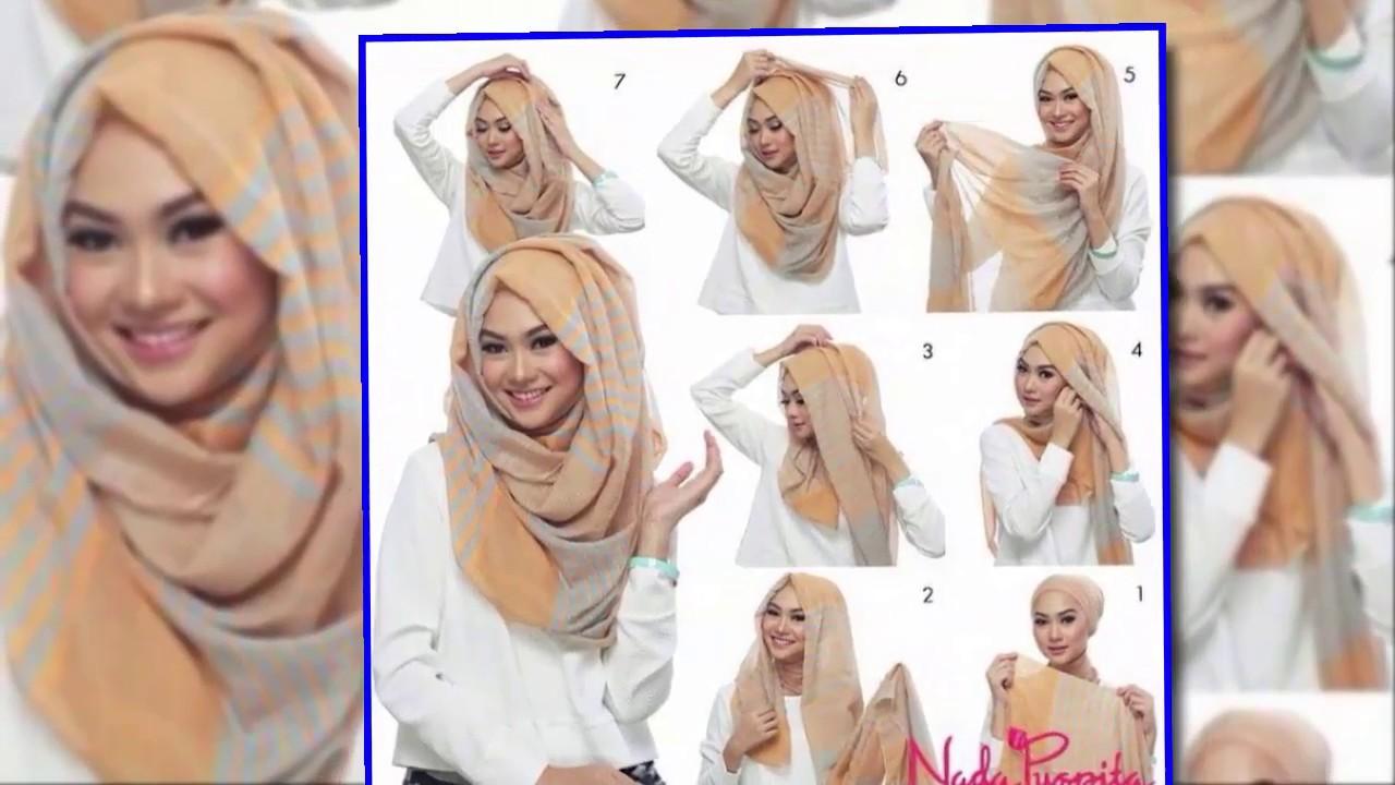 Easy Hijab Style Tutorial Hijab Tutorial 2020 Youtube