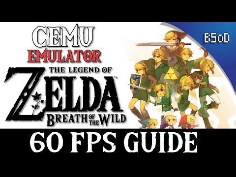 Cemu | 60 FPS Guide | Zelda Breath of the Wild