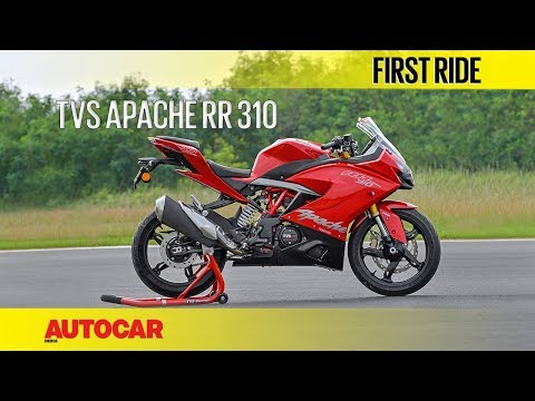 TVS Apache RR 310 | First Ride | Autocar India