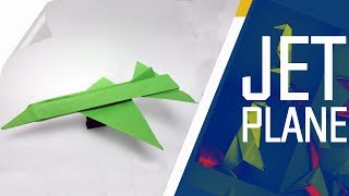 Origami - How To Make An Easy Origami Jet Plane