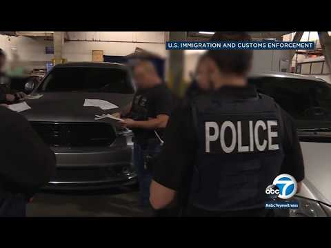 ICE agents arrest 212 in LA-area operation | ABC7