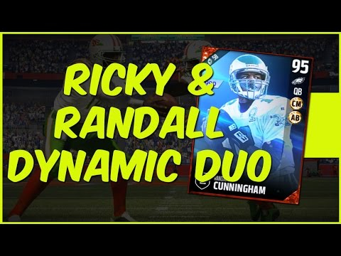 MUT 17 Gameplay | Ricky And Randall The New Dynamic Duo! Randall Cunningham Gameplay