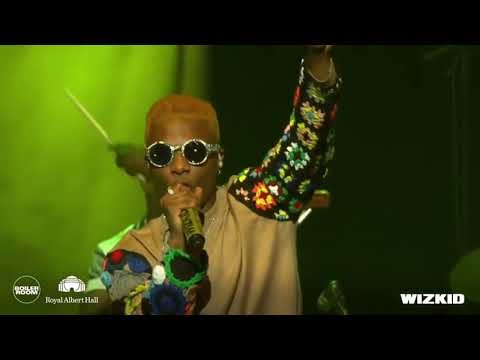 Wizkid Performs Live At The London's Royal Albert'