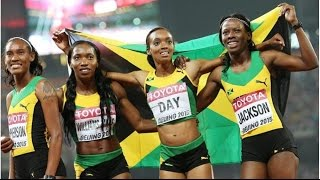 Relays 4x400 Final Beijing 2015 Women Damas - LocosPorCorrer.com