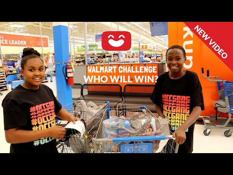 Walmart Coupon Challenge! Couponing with kids!