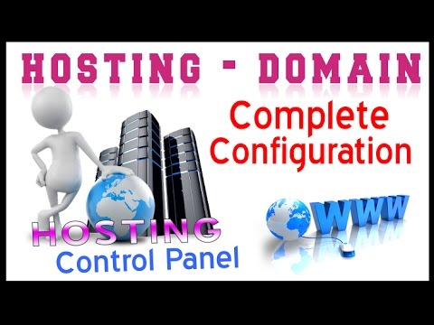 Full Tutorial for Domain & Hosting Configuration, FTP upload , Email ID creation & Control Panel