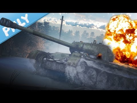 SIM TANKS - T-44-122 BIG SHOT (War Thunder Tanks Gameplay)
