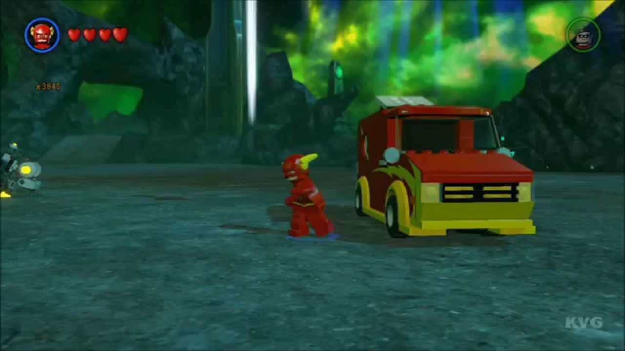 LEGO Batman 3: Beyond Gotham - The Flash Mobile Free Roam ...