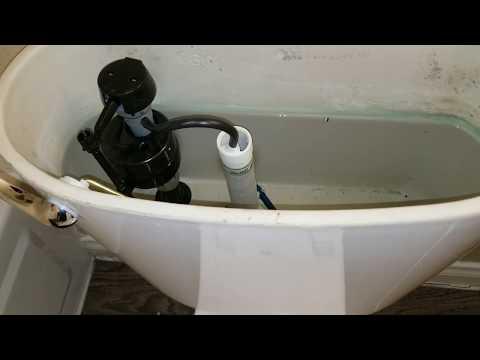 Adjusting Toilet Fill Valve