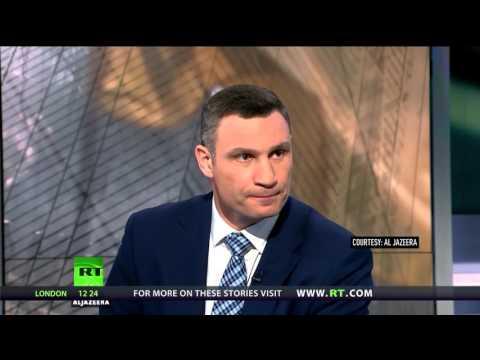 'Sorry, I'm from Ukraine': Kiev mayor rejects HRW report on Ukraine in interview