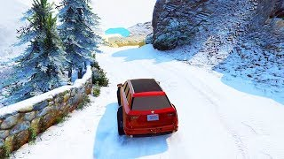 CHRISTMAS SNOW UPDATE IN GTA ONLINE! (New 4x4 SUV!)