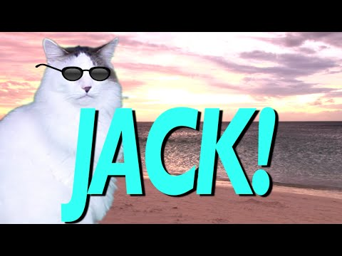 HAPPY BIRTHDAY JACK! - EPIC CAT Happy Birthday Song