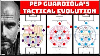The Tactical Evolution Of Pep Guardiola | Pep Barca vs Bayern vs City | How Guardiola has changed