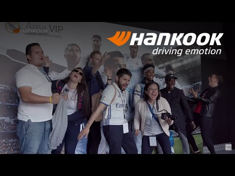 [Campaign] Hankook Tire offers Real Madrid Fans Innovative Experience