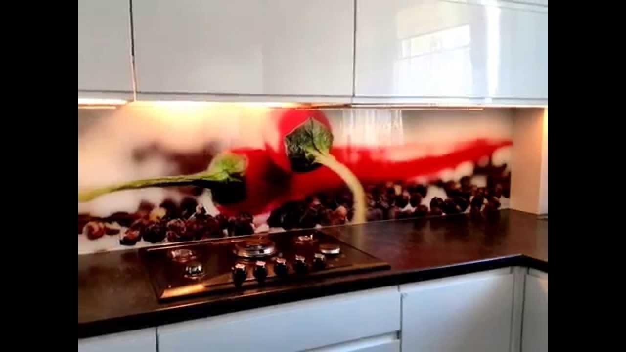 Szklana Elegancja drzwi szklane lustra grafika na szkle   -> Fototapety Kuchenne Storczyk