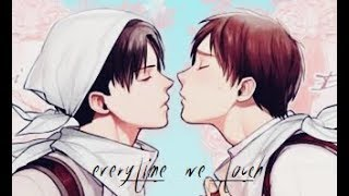 Eren X Levi - EVERYTIME WE TOUCH (HD)