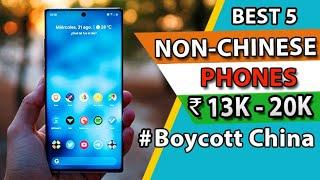 Top 5 Best Smartphones Under 20000 in India 2020 l Best Non Chinese Smartphones Under 20000