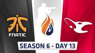 ECS Season 6 Day 13 Fnatic vs Mousesports - Inferno