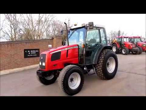 MASSEY FERGUSON 2210 WALK ROUND VIDEO