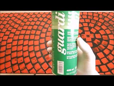 Easy way to varnish acrylic paintings with a Spray Film