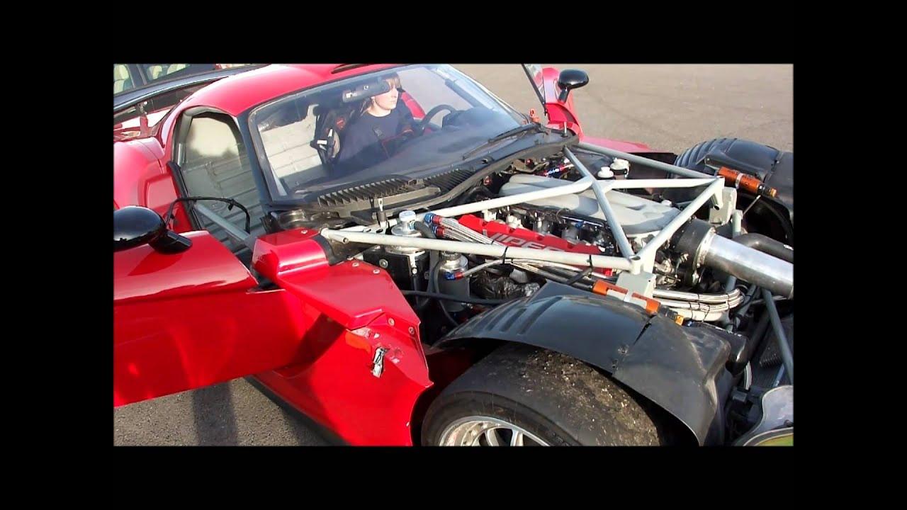 Oreca Dodge Viper GT2 Competition Coupe warm-up - Nadine ...