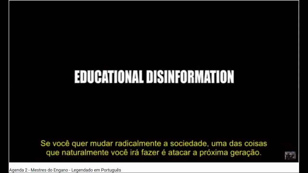 Public Schools are DECEIVING America❗ Mestres do Engano / Masters of deception (Mini Clip)