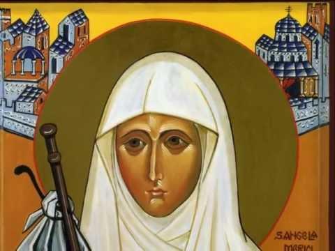 Ikona św.Anieli Merici, Pielgrzymka