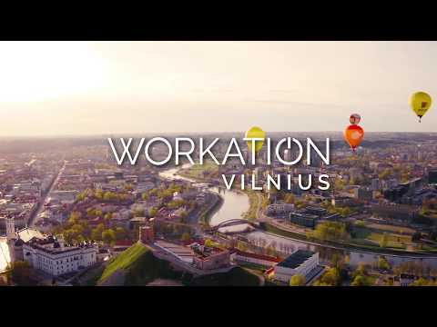 Take a WORKATION to VILNIUS!