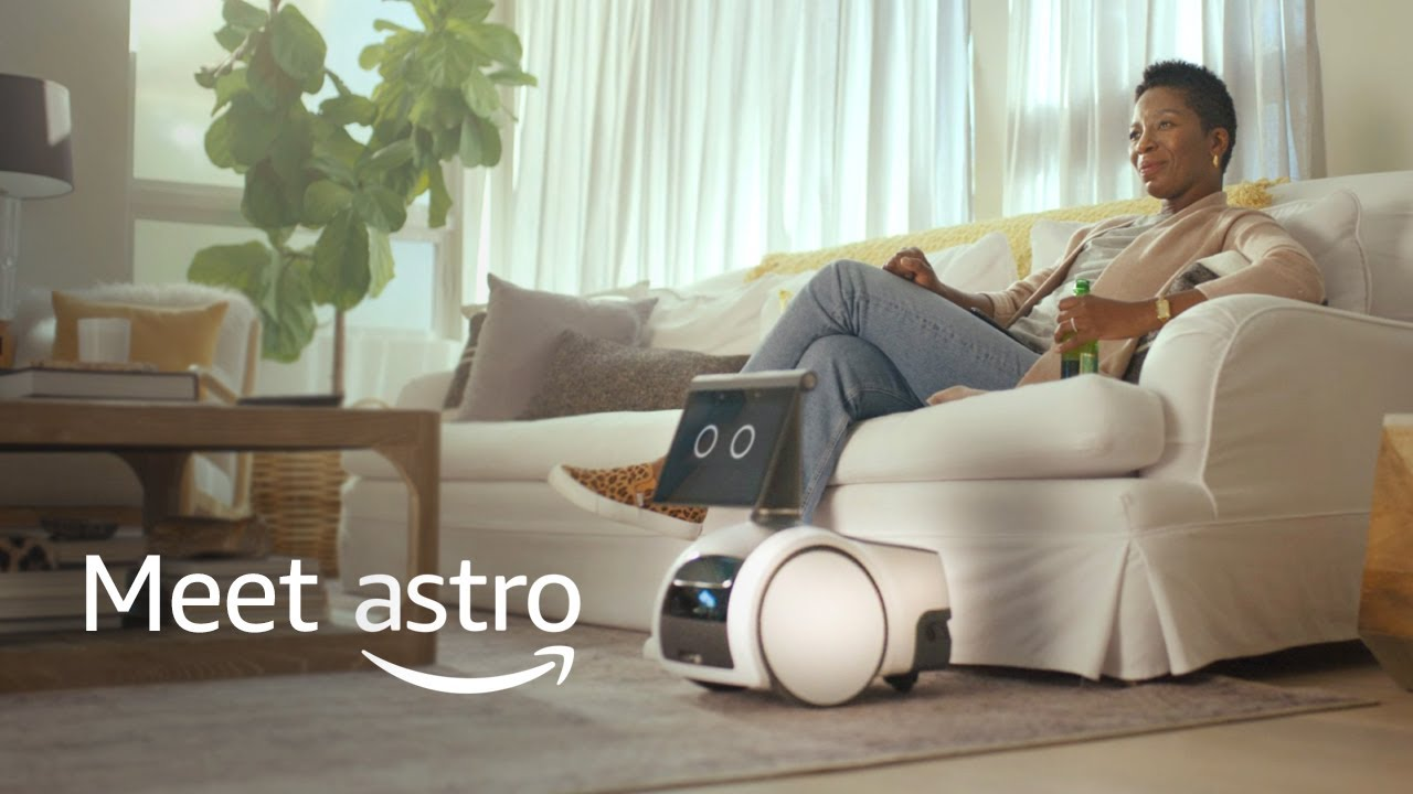 Download Introducing Amazon Astro – Household Robot for Home Monitoring, with Alexa