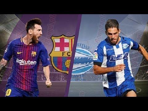 Fc Barcelona Vs Alaves Full Match Laliga Santander 18 8 2018 Youtube