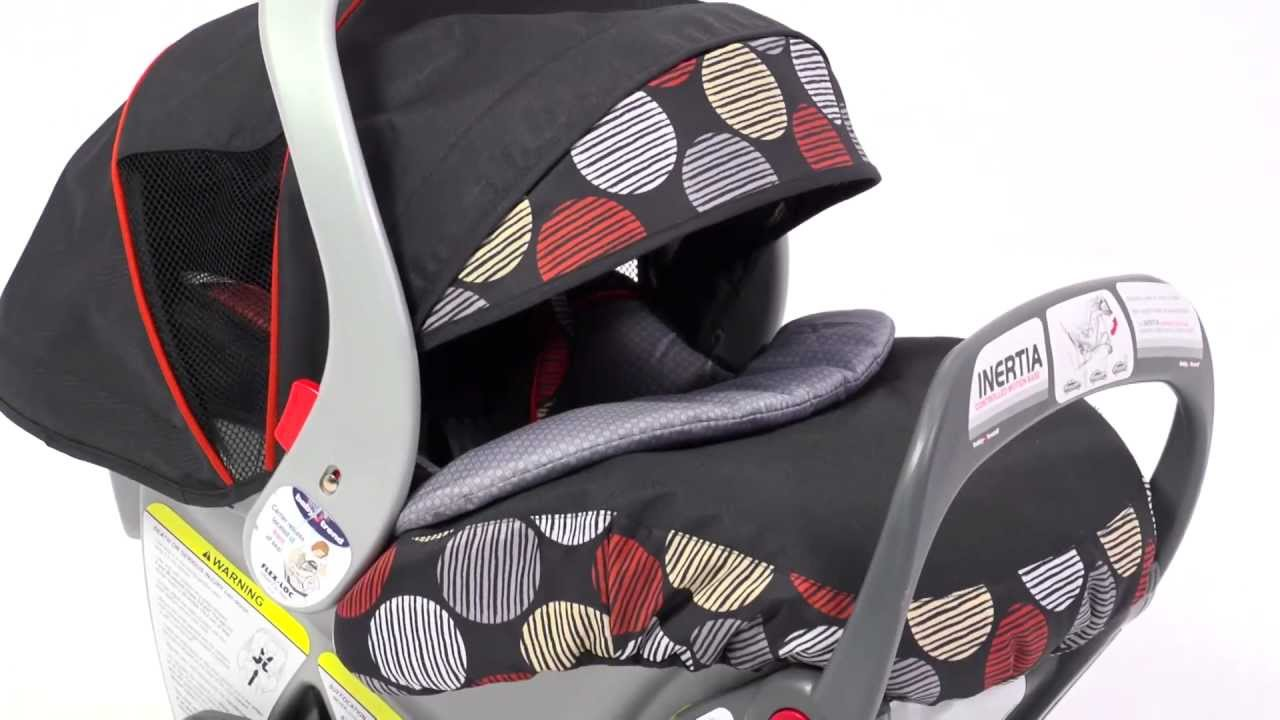 Baby Trend Inertia Controlled Motion Base Infant Car Seat Youtube