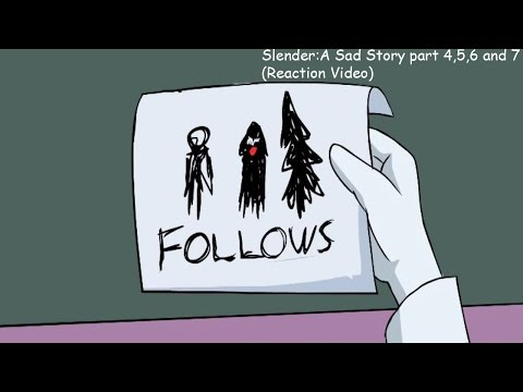 The Meaning of the Pages... -Slender: A Sad Story part 4,5,6 and 7 (Reaction Video)