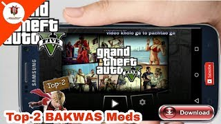 || Top-2 ||GTA 5 MODS by BAKWAS unity Everybody  this beautiful Game Link provided in Description.
