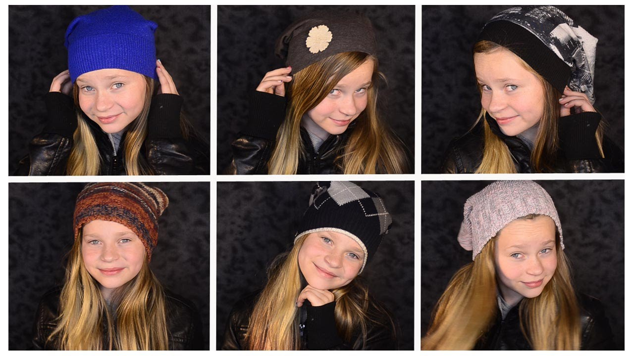 DIY  NO SEW Slouchy Beanie! - YouTube 8a97994ecfd