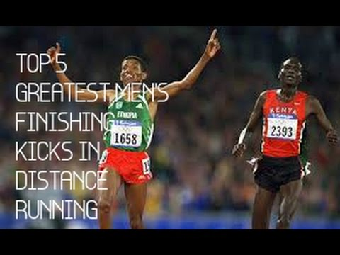 Top 5 Great Finishing Kicks in Men's Distance Running