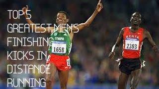 Top 5 Great Finishing Kicks in Men's Distance Running