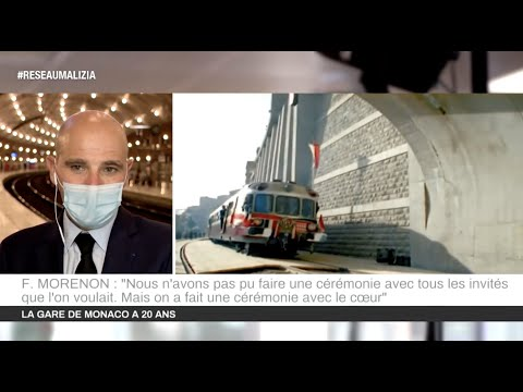 Transport : La Gare de Monaco célèbre ses 20 ans