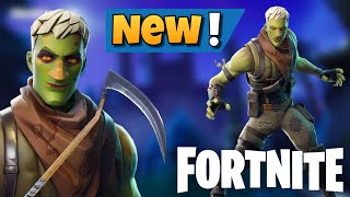 Fortnite BR: The Reaper Harvesting Tool is back + New Brainiac Skin in the Item Shop!!!