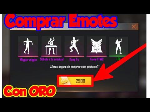 Como Comprar✔ Todos Los Emotes Con ORO