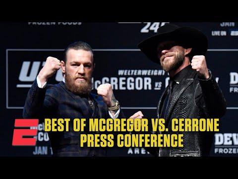 Best Of Conor McGregor Vs. Donald Cerrone: UFC 246 Press Conference