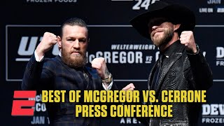 Best of Conor McGregor vs. Donald Cerrone: UFC 246 Press Conference