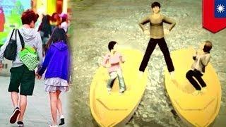 台湾、台北市で、未成年者男女の恋愛に関する調査が行われた。回答者は...