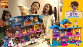선물 도착 최고의 병원놀이 세트. 꼬마의사 맥스터핀스 장난감 병원 l Doc McStuffins toy hospital l Doc McStuffins toys